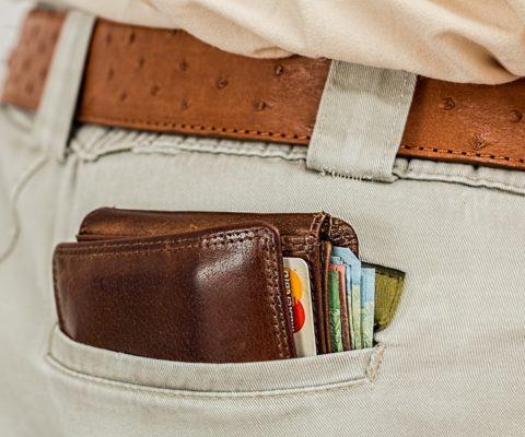 Krádež peněženky z kabelky