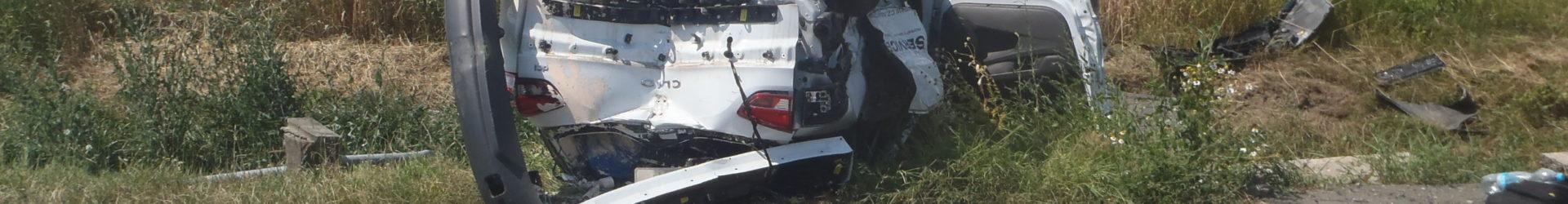 Dvě dopravní nehody na silnici I/38