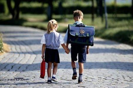 První cesta do školy