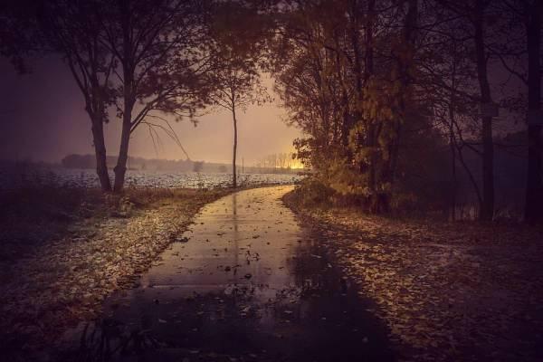 Podzimní počasí a doprava