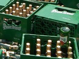 Odcizil přepravky od piva