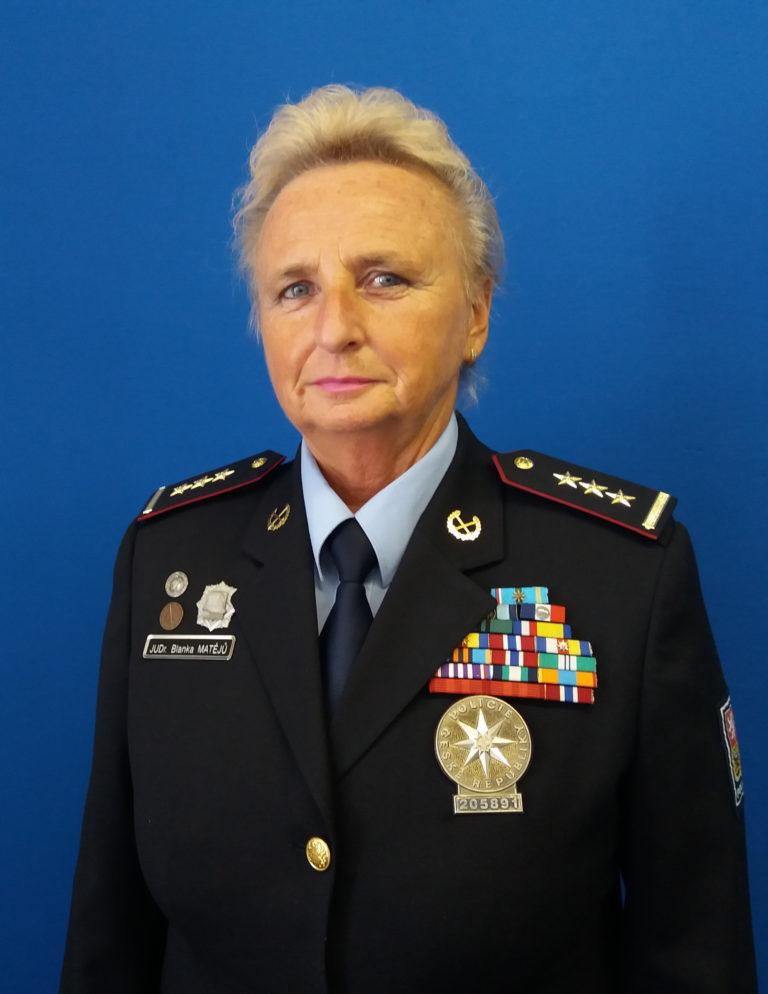 Rozhovor s vedoucí kutnohorských policistů plk. JUDr. Blankou Matějů
