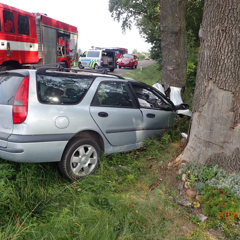 Vážná dopravní nehoda u Chedrbí