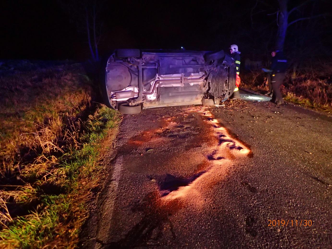 Dopravní nehoda u Březí