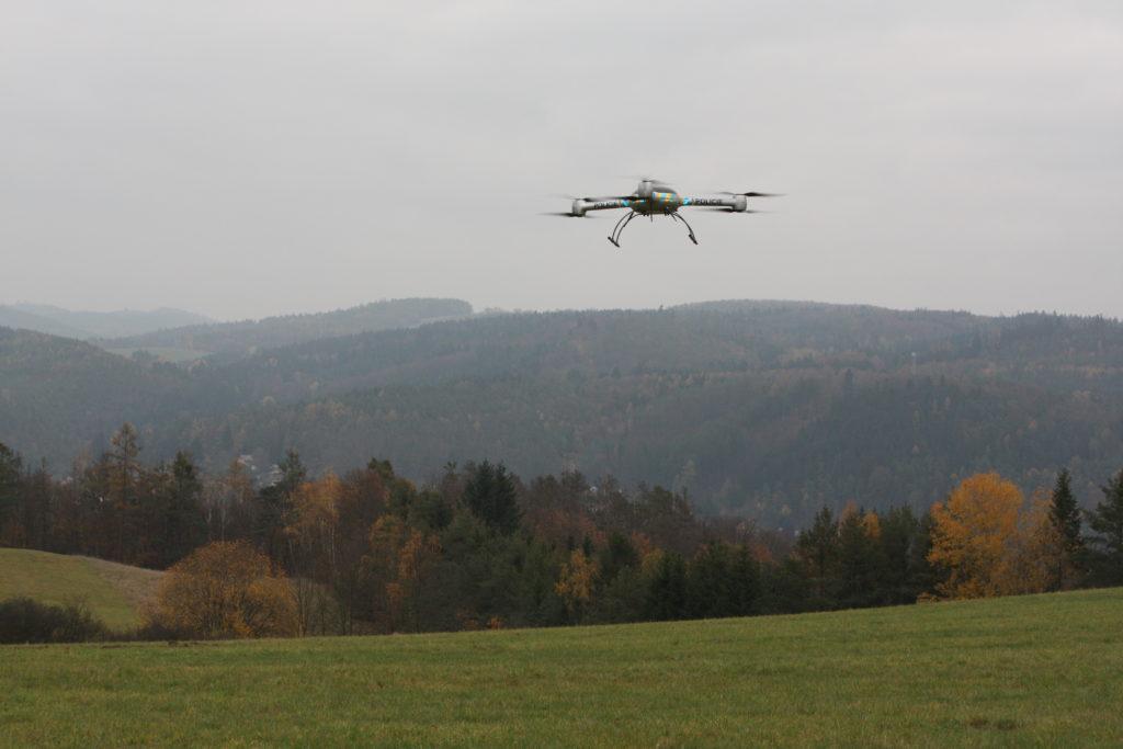 Využití dronů v policejních činnostech