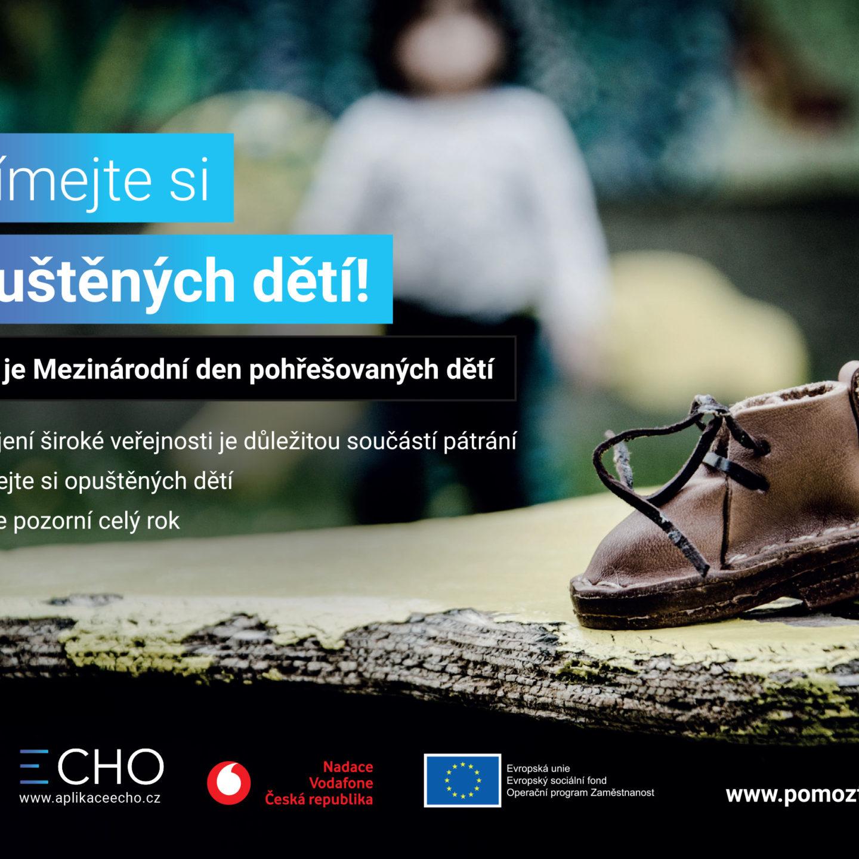 """Mezinárodní den pohřešovaných dětí nebo také ,,Pomněnkový den"""""""