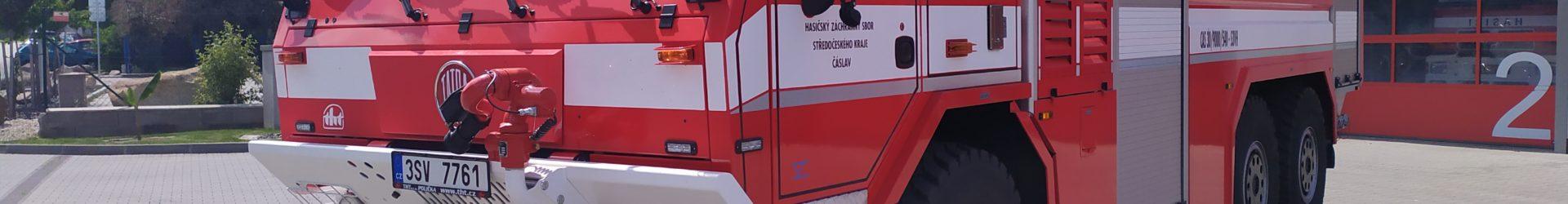 Čáslavští hasiči získali novou techniku