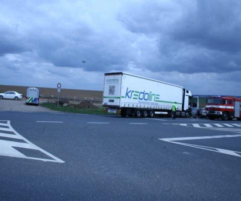 Tragická dopravní nehoda na obchvatu u Čáslavi